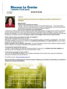 Naturopathe Biocoop